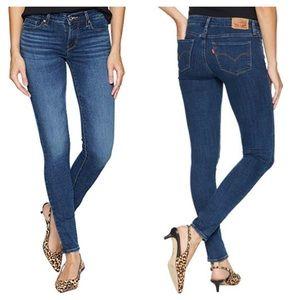 Levi's Womens 711 Skinny Jeans